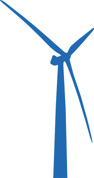 Wind Turbine Blue Clip Art at Clker.com.