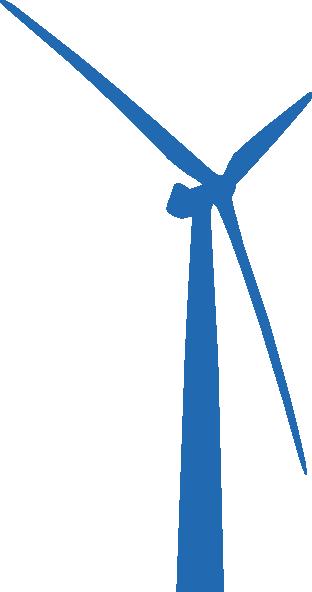 Wind Turbine Blue Clip Art at Clker.com.