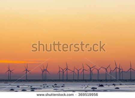 Denmark Wind Energy Stock Photos, Royalty.