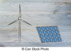 Offshore wind energy park Clip Art and Stock Illustrations. 28.