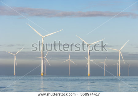Offshore Wind Stock Photos, Royalty.