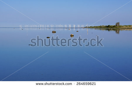 Offshore Wind Turbines Stock Photos, Royalty.