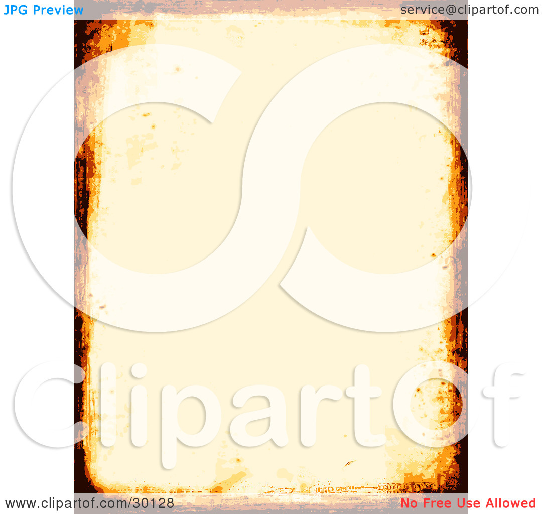 Clipart Illustration of an Off White Stationery Background.