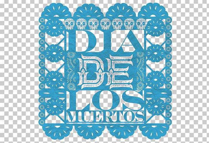 Calavera Day Of The Dead Papel Picado Paper Ofrenda PNG.