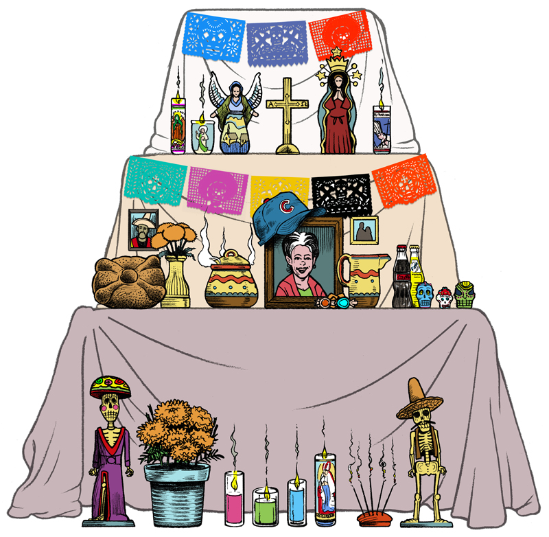 How Day of the Dead is celebrated (explained in English and.