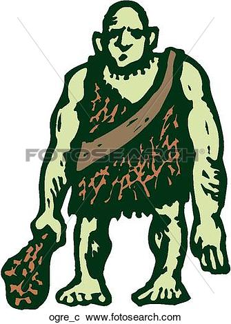 Clipart of Ogre ogre_c.