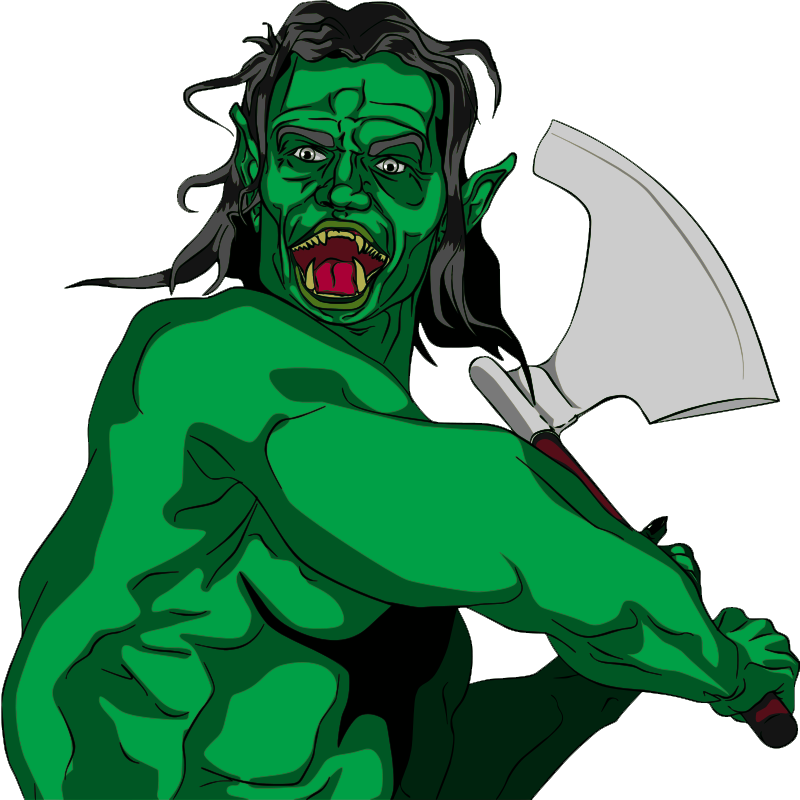 Free to Use & Public Domain Ogre Clip Art.