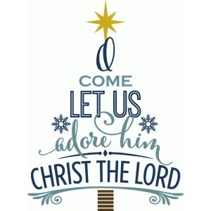 Come Let Us Adore Him Clipart.