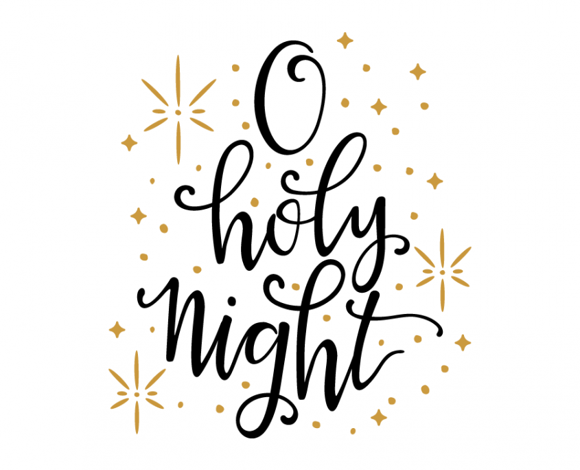Silent Night Holy Night Clipart.