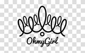 Oh My Girl logo transparent background PNG clipart.
