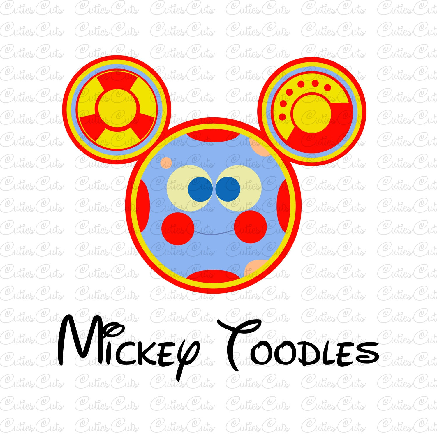 Mickey Mouse Clubhouse Toodles Noodles.