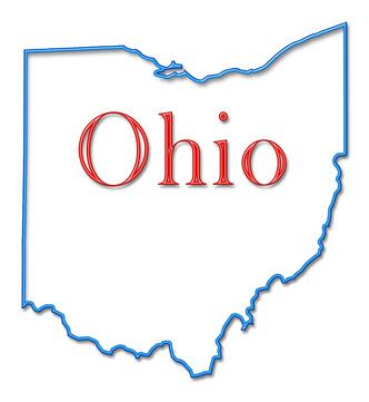 Clipart Outline Ohio.