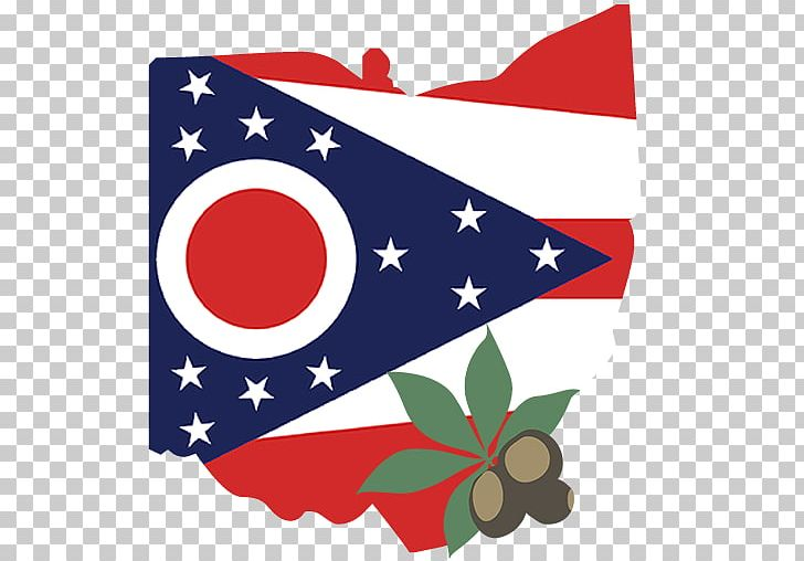 Flag Of Ohio State Flag Flag Of The United States PNG.