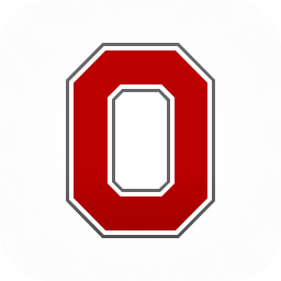 Ohio State Block O Template.