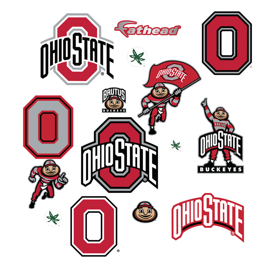 Ohio State Buckeyes: Logo Assortment.