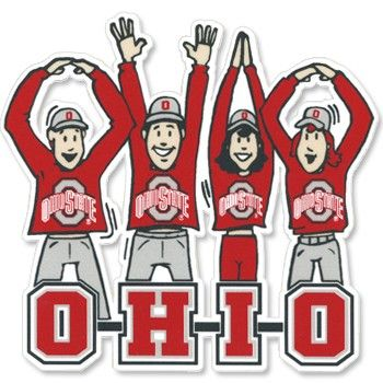Ohio State Buckeyes Clip Art.