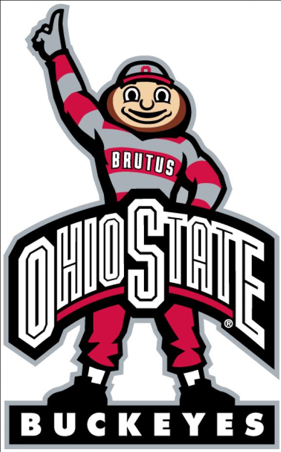 Ohio State Buckeyes Iron Ons.