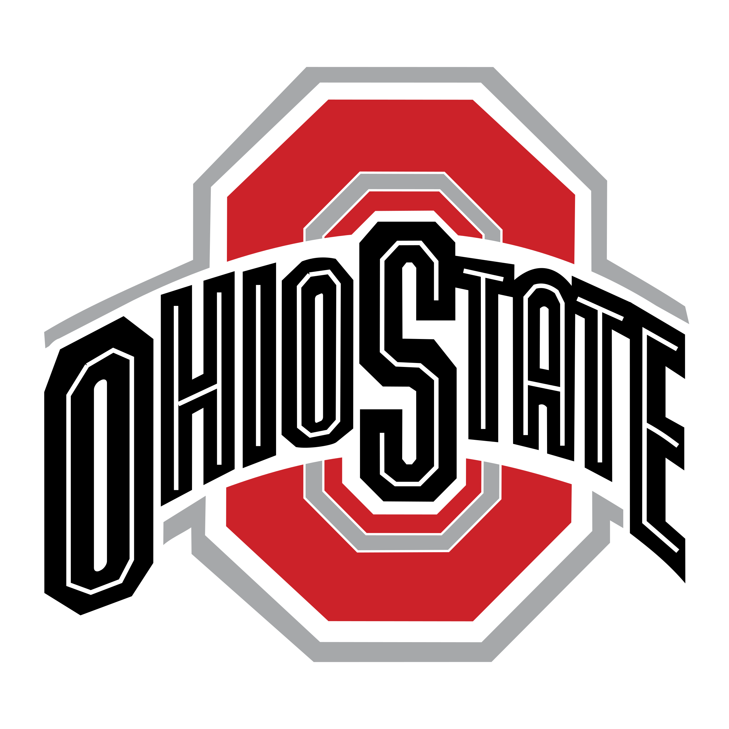 Ohio State Buckeyes Logo PNG Transparent & SVG Vector.