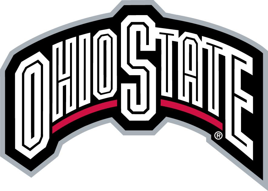 Ohio State Buckeyes Wordmark Logo.