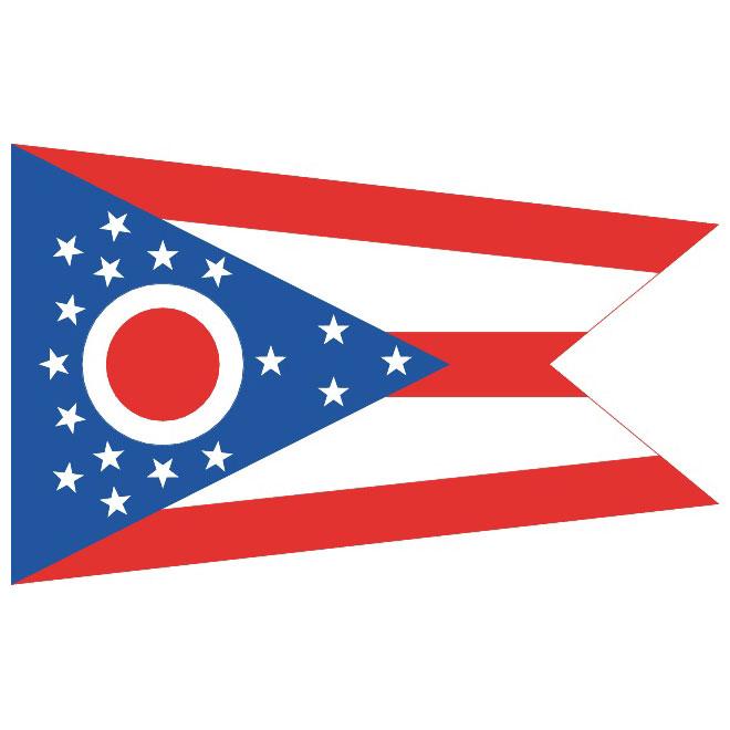 OHIO FLAG VECTOR.