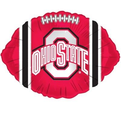 Ohio State Buckeyes Football Clipart.