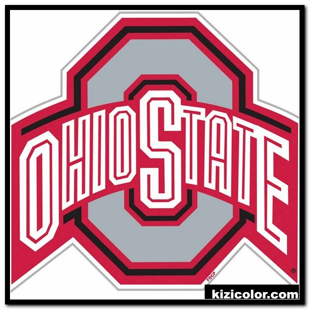 Ohio State Buckeyes Coloring Pages 15 Ohio Logo Clip Art.