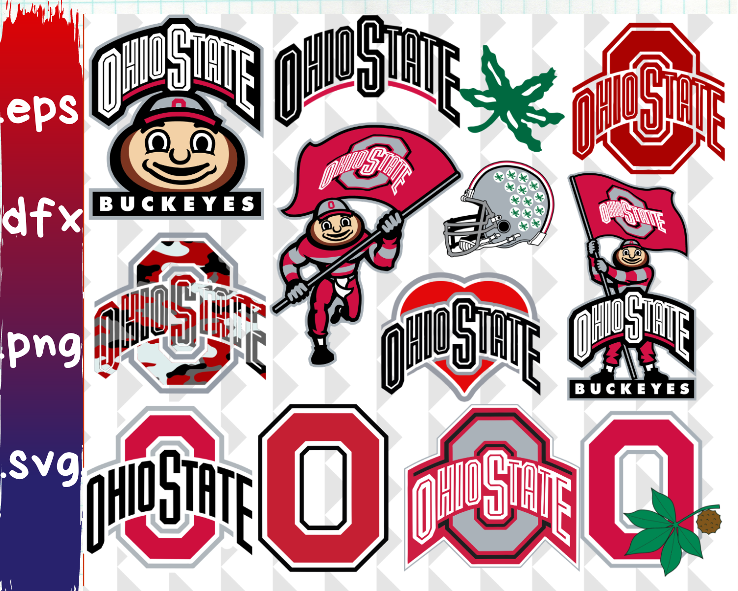 Ohio State Buckeyes, Ohio State Buckeyes svg, Ohio State.