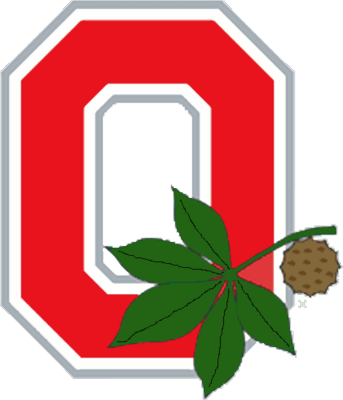Free Ohio State Logo PSD Vector Graphic.