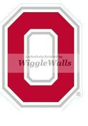 Amazon.com: 3 INCH O Logo Symbol Red White OSU Ohio State.