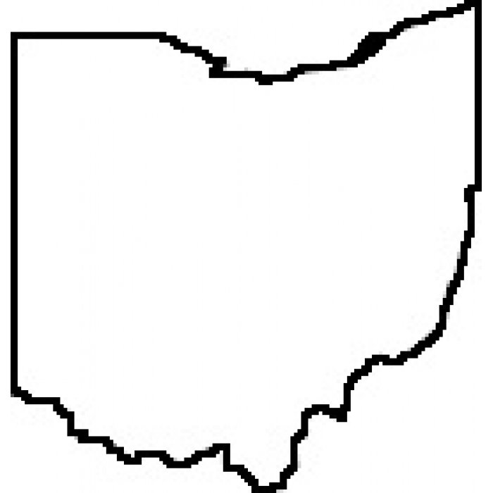 ohio state outline clipart - clipground
