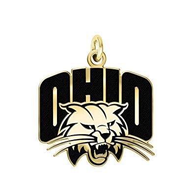 Amazon.com: Ohio University Bobcats 14k Yellow Gold Cut Out.