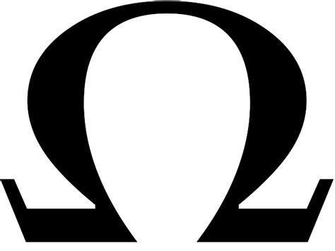 Ohm symbol Logos.