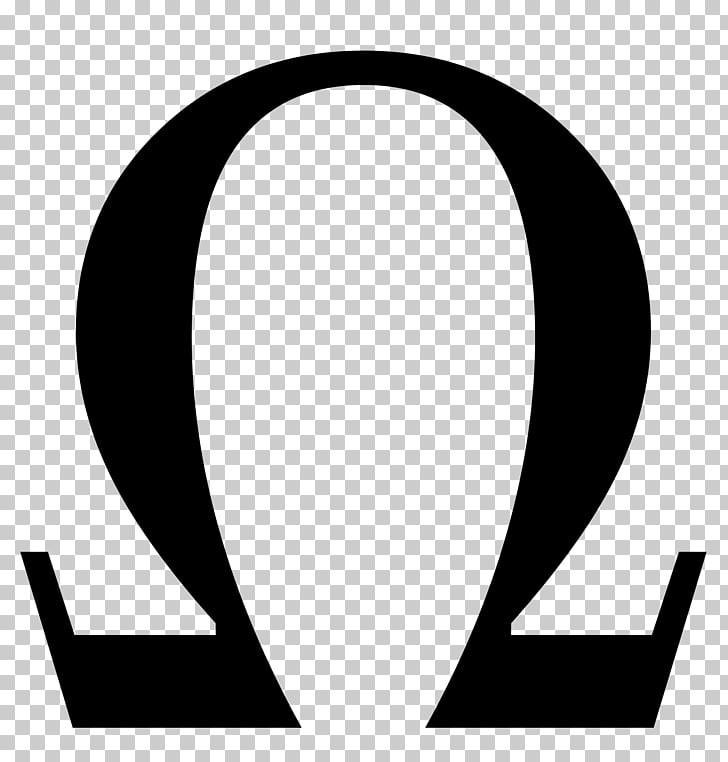 Ohm\'s law Symbol Voltage Omega, peace symbol PNG clipart.