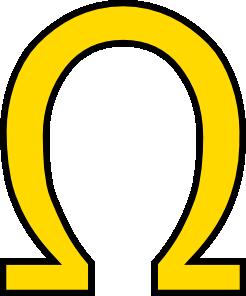 Greek Letter Ohm Clip Art at Clker.com.