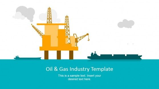 Oil & Gas Industry PowerPoint Template.