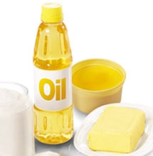 Fats oils and sweets clipart.
