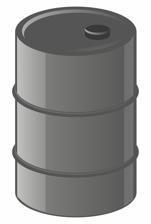 Barrel Container Oil Metal Drum.