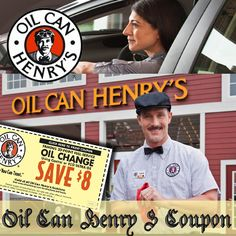 Oil Can Henry's Coupon.