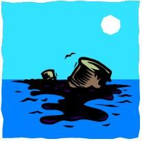 Oil Spill Clipart Water.