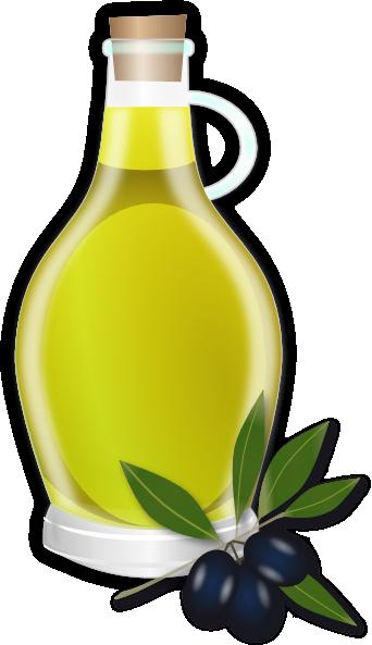Olive Oil Cartoon.