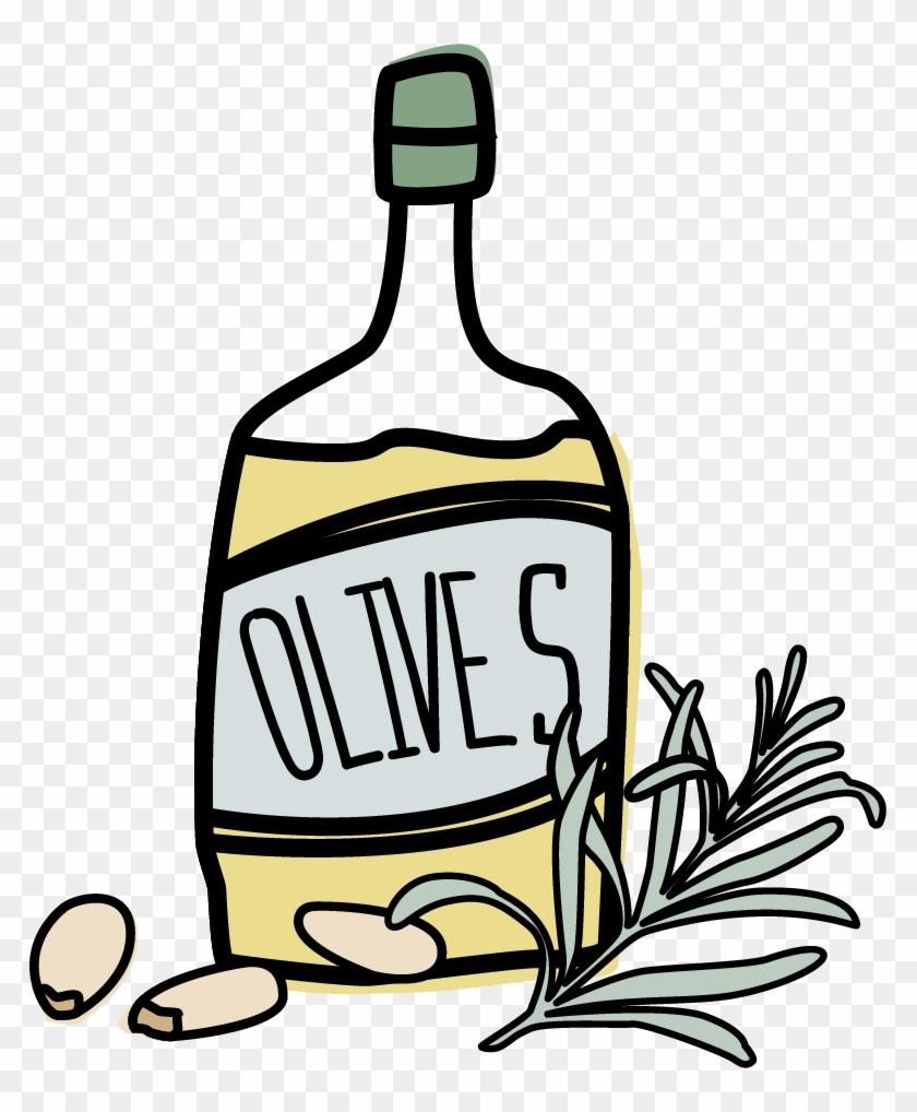 Olive Oil Clipart Transparent.