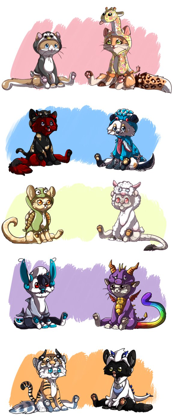 Critter Costume commssions by MooiLeven on DeviantArt.
