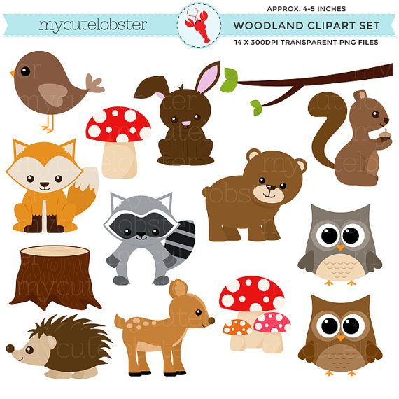 Critters Clipart.