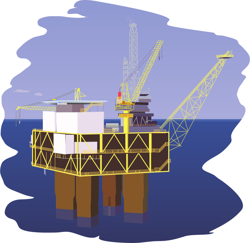 Free Clipart: Oil rig.