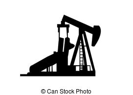 Oil Rig Clipart.