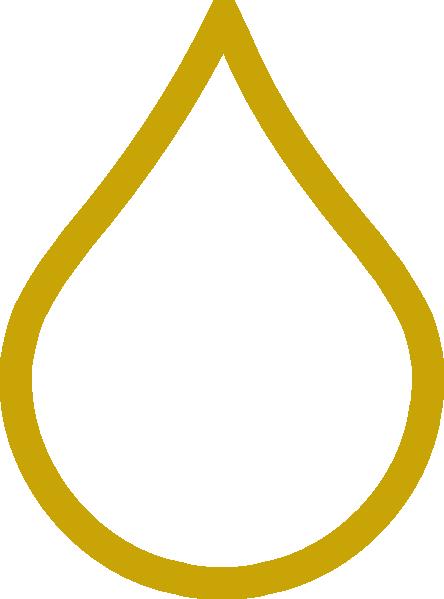 Oil Drop Gold Clip Art at Clker.com.