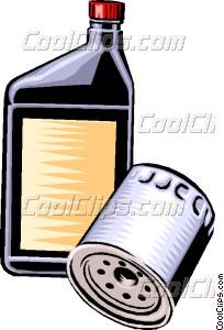oil filter Vector Clip art.