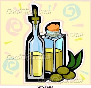 olive oil Vector Clip art.
