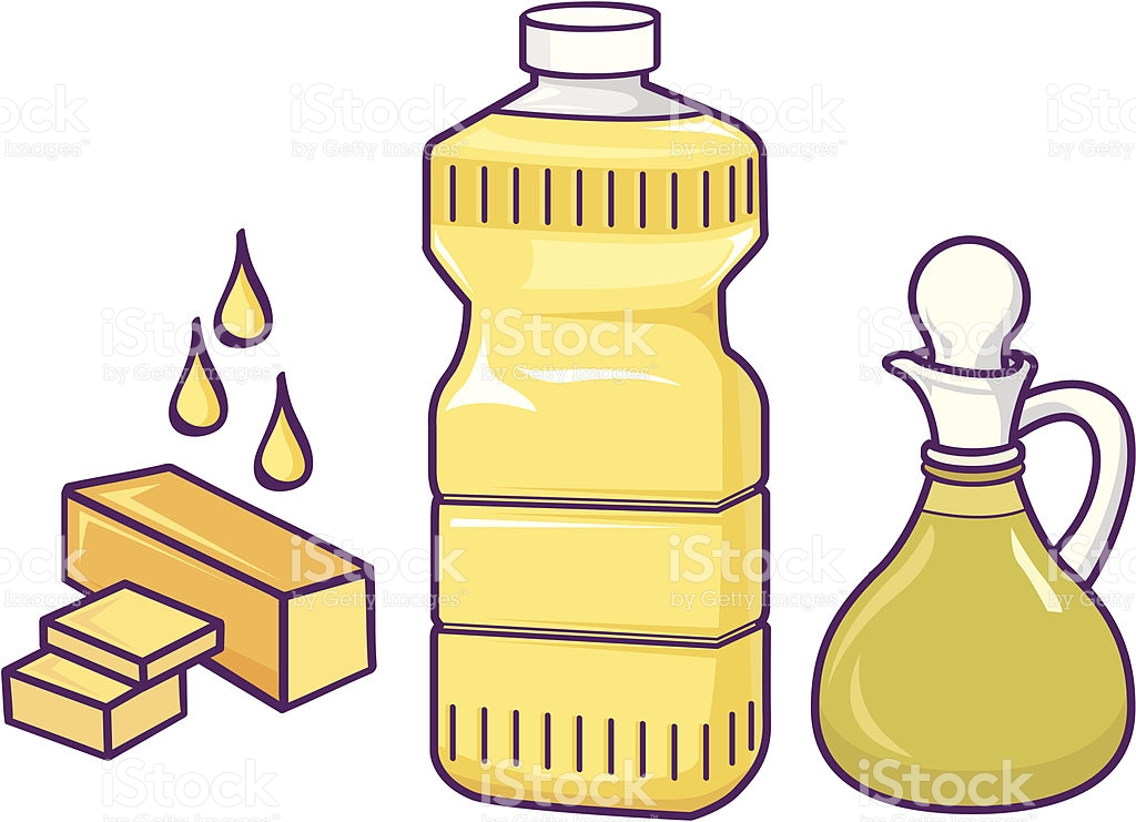 Oils and fats clipart.