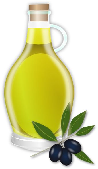 Oil of chrism clipart.